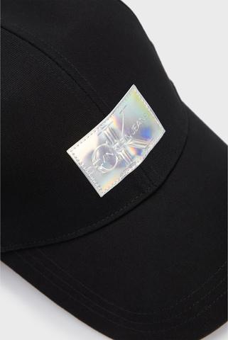 Женская черная кепка IRIDESCENT Calvin Klein