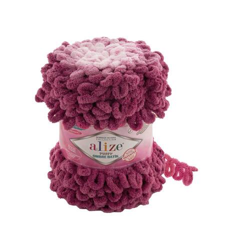 Купить Пряжа Ализе Пуффи Омбре Батик - цвет 7426 | Интернет-магазин пряжи «Пряха»