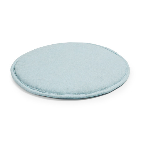 Подушка Stick круглая светло-голубая