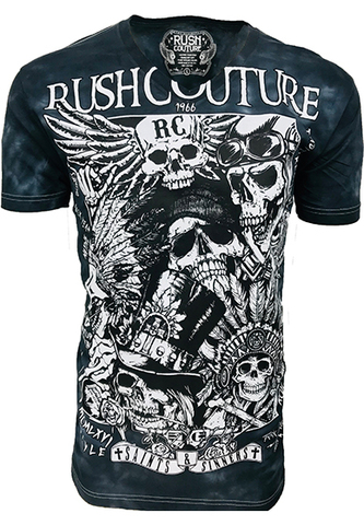 Футболка Garden Of Savages  Rush Couture. Made in USA
