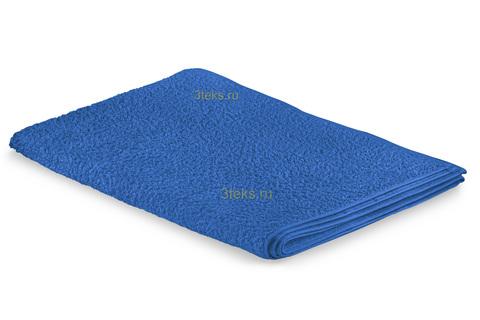 Простынь махровая (Синий)