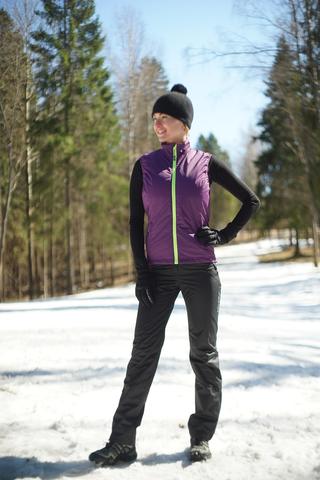 Жилет утепленный Nordski Motion Purple W женский