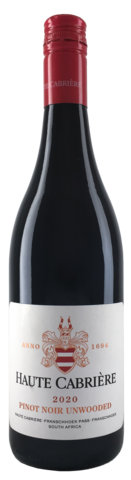 Haute Cabriere Pinot Noir Unwooded