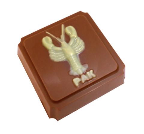 Пластиковая форма для шоколада ЗНАК ЗОДИАКА РАК (65х65мм)