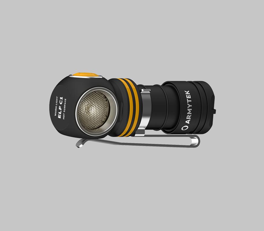Мультифонарь Armytek Elf C1 Micro USB (теплый свет) - фото 2
