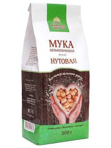 Мука Нутовая, 500 гр. (Житница здоровья)