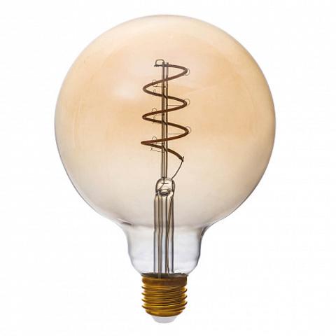 Светодиодная ретро лампа G125 Spiral LED 5W E27 1800K