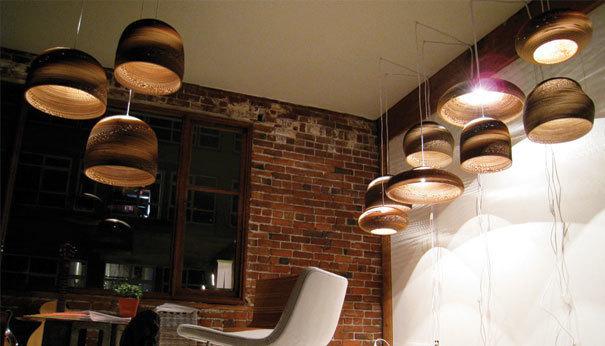 Подвесной светильник Disc Scraplight by Graypants D40