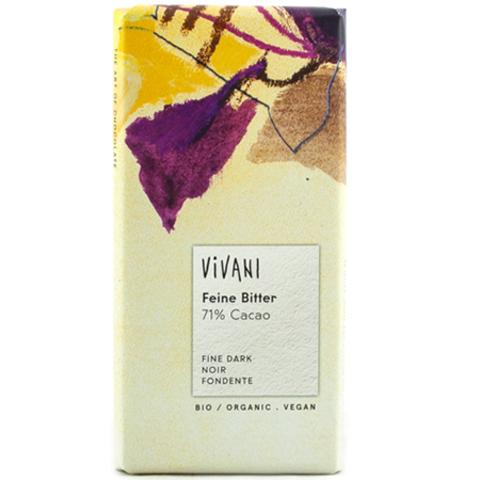 Vivani, Шоколад темный, 71% какао. Vivani, 100 г