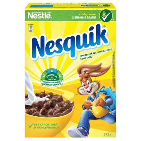 Готовый завтрак NESQUIK 375 гр кор Nestle РОССИЯ