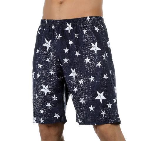 Мужские шорты удлиненные темно-синие Van Baam VB-39254
