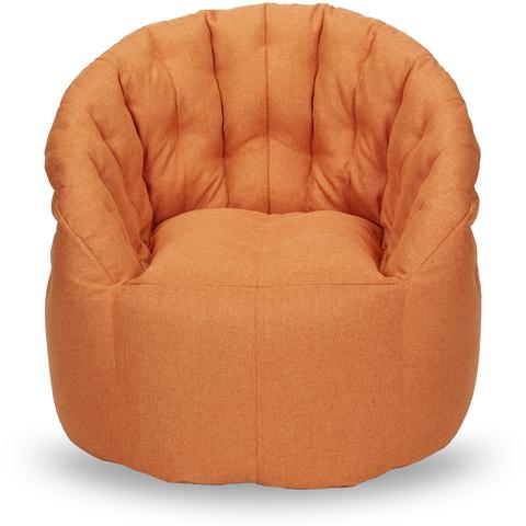 Бескаркасное кресло «Австралия», Мандариновый