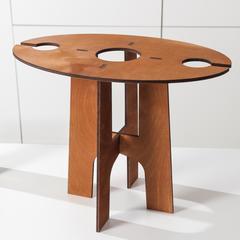 Столик-поднос для вина и двух бокалов, фото 2