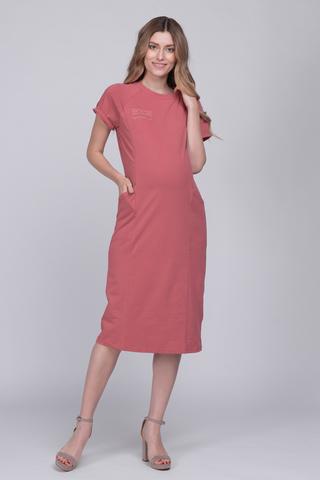 Платье для беременных и кормящих 12657 кедр