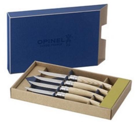Набор столовых ножей Opinel VRI Ashwood (4 штуки)