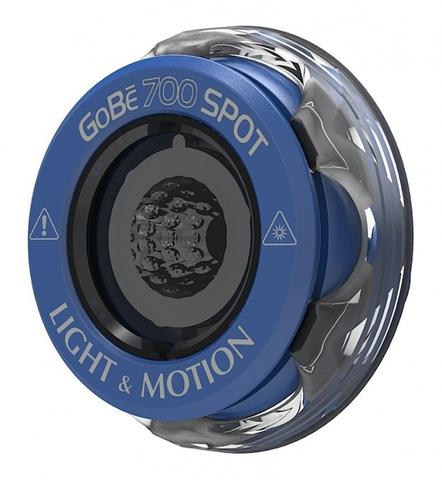 Головка фонаря Light and Motion GoBe 700 Spot синяя