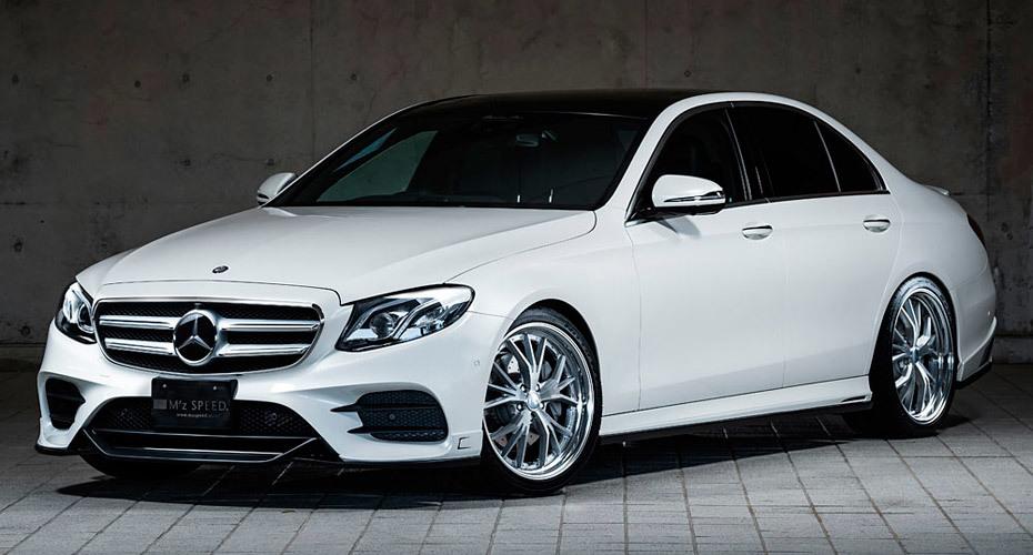 Обвес MzSpeed для Mercedes E W213