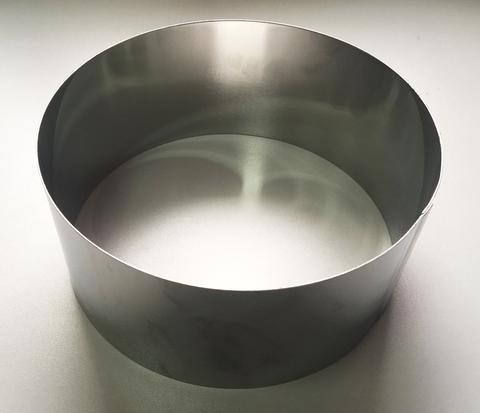 Кольцо-резак для торта H10 D24, нерж. сталь 1 мм.