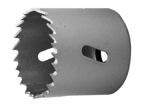 ЗУБР 40мм, коронка биметаллическая, быстрорежущая сталь