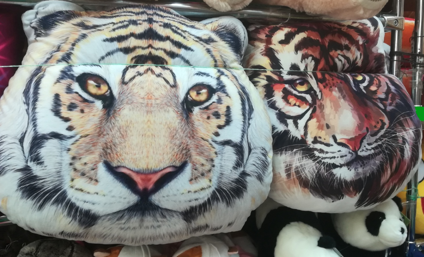 Подушки тигры (2 ШТ) 82  см