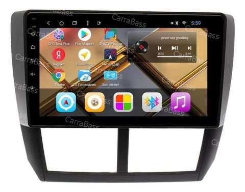 Магнитола Subaru Forester 2008-2012/Impreza 2007-2011 Android 9.0 2/32 модель CB3156T8