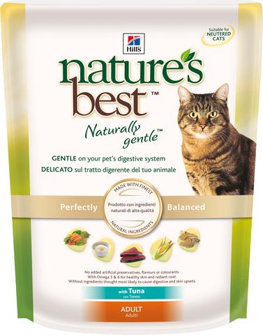 Hill's NB сухой корм для кошек (тунец/овощи) 300г
