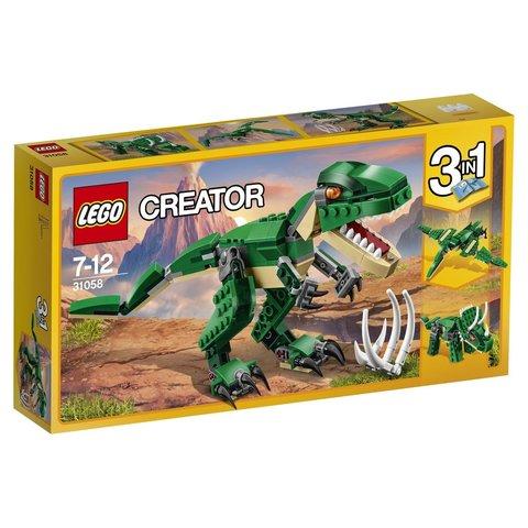 LEGO Creator: Грозный динозавр 31058 — Mighty Dinosaurs — Лего Креатор Создатель
