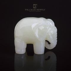 Слон.Нефрит буромский