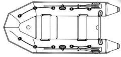 Надувная лодка Тайга 320