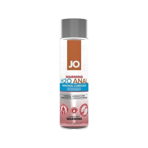 JO Anal H2O Warming, 120ml Анальный согревающий лубрикант на водной основе