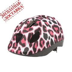 Велошлем Polisport Kids Pinky Cheetah