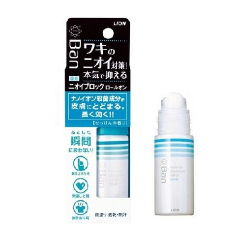 Дезодорант-антиперспирант роликовый Lion с ароматом мыла 40 мл
