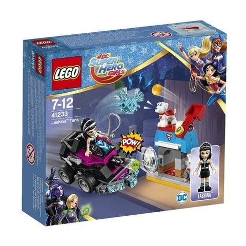 LEGO DC Super Hero Girls: Танк Лашины 41233 — Lashina Tank — Лего Девушки-супергерои