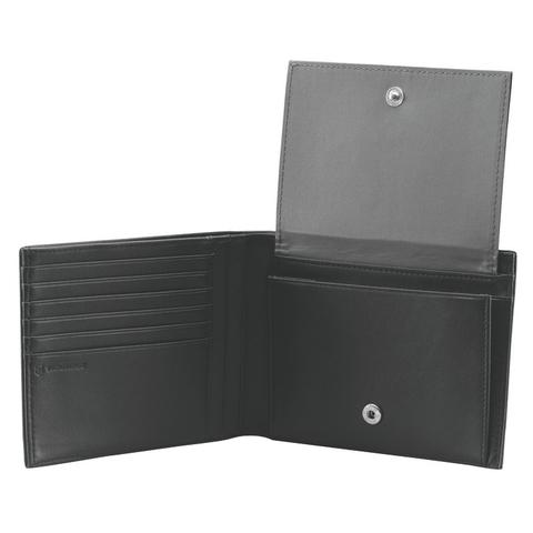 Портмоне Victorinox Altius 3.0 Innsbruck, чёрное, натуральная кожа наппа, 13x2x10 см