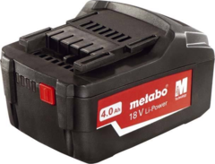 Metabo Аккумуляторный блок 18 В, 4,0 А·ч, Li-Power (625591000)