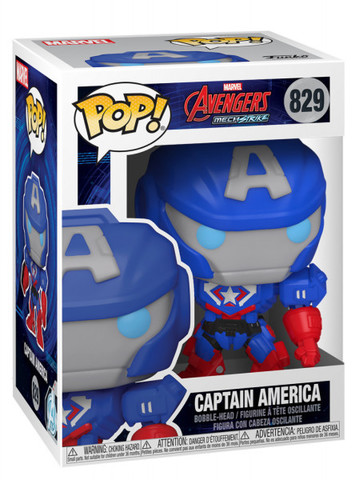 Фигурка Funko Pop! Avengers: MechStrike. Captain America    Капитан Америка