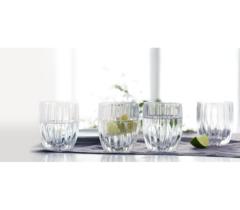 Набор из 4 низких хрустальных стаканов Prestige, 290 мл, фото 2