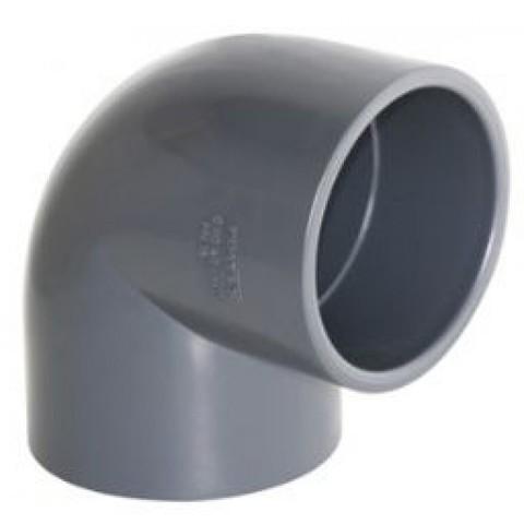 Угол 90 ПВХ диаметр 225мм 1,0 Мпа Pimtas