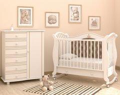 Кровать детская Габриэлла Люкс Плюс колесо-качалка, ящик