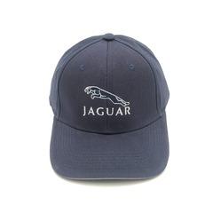 Кепка с вышитым логотипом Ягуар (Бейсболка Jaguar) темно-синяя