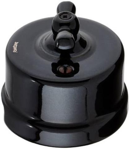 Выключатель поворотный 10А 250В~. Цвет Чёрный. Fontini Garby(Фонтини Гарби). 30306272