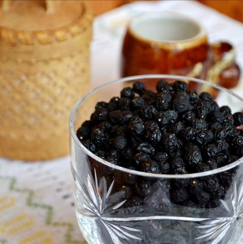 Черёмуха, ягода сушёная цельная