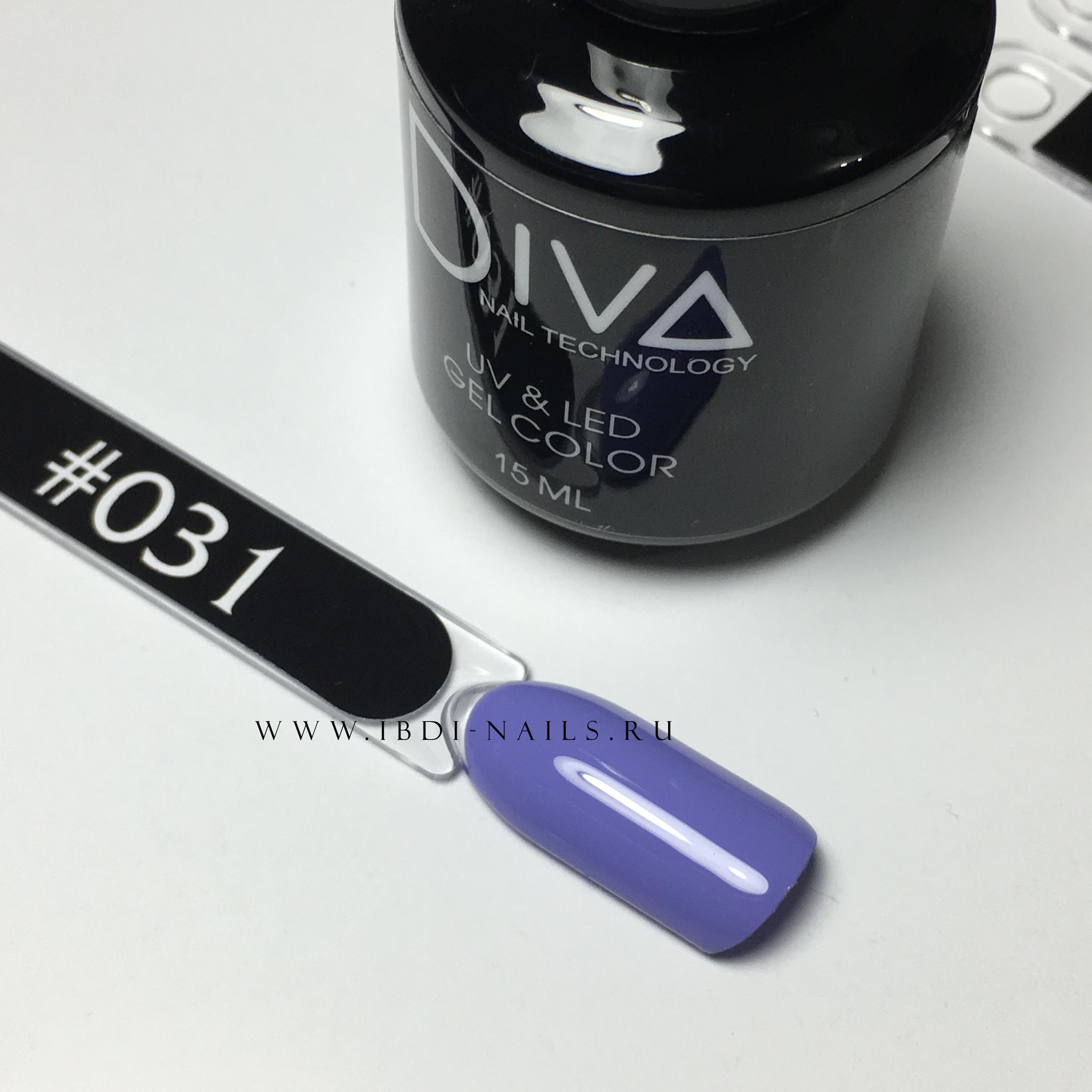 Гель-лак DIVA 031 15мл