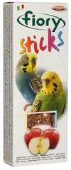Палочки для попугаев FIORY Sticks, с яблоком