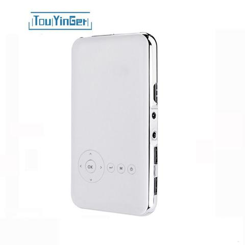 Проектор TouYinGer S6 plus 8 Гб цвет белый