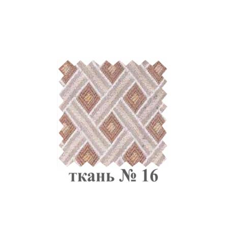 Табурет Т34 деревянный дуб, ткань 16