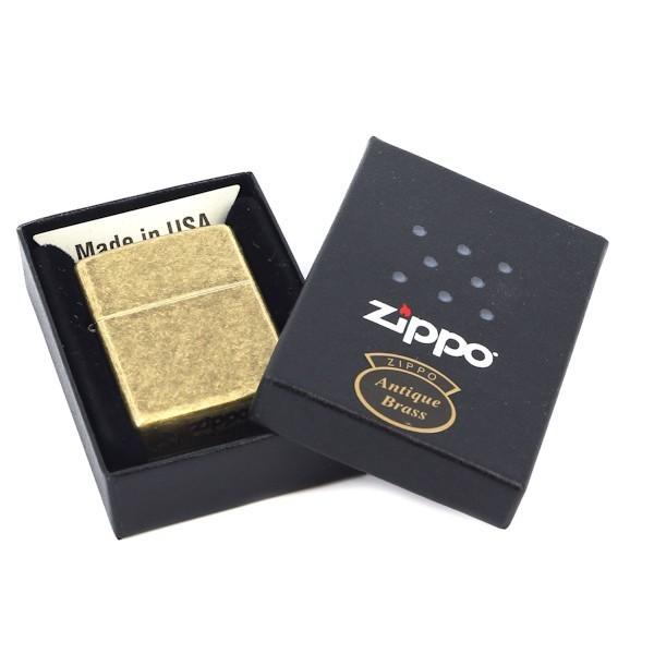 Зажигалка Zippo с покрытием Anitque Brass, медь/сталь, матовая, 36x12x56 мм