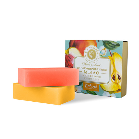 Набор парфюмированного мыла La joie de Fruits