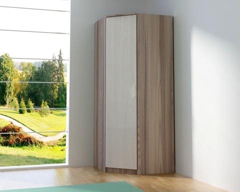 Шкаф ВЕНА угловой с зеркалом /803*2200*803/левый