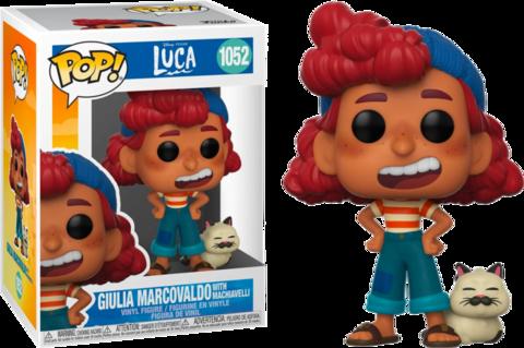 Фигурка Funko Pop! Disney: Luca - Guilia Marcovaldo with Machiavelli